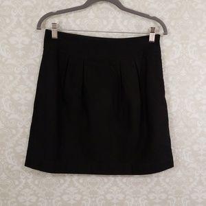 Banana Republic Factory Black Mini Skirt